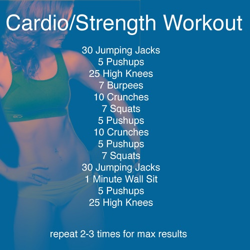 Cardio-Strength Workout