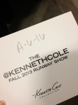 Seat at Kenneth Cole Collection