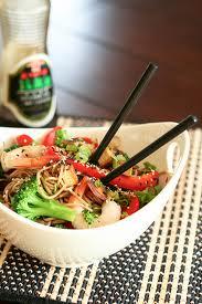 Soba tofu noodles